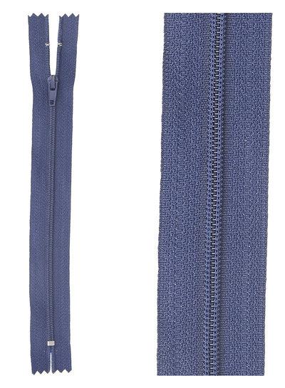 klassieke rits / rokrits  - marineblauw kleur 919