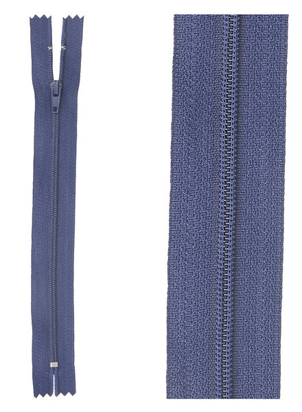 close  end zipper - navy blue color 919