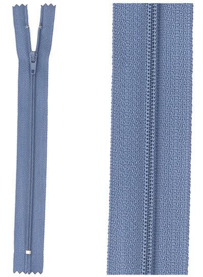 close end zipper - denim blue color 839