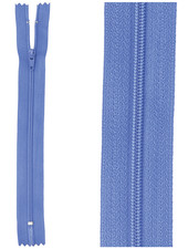close end zipper - cobalt blue color 918