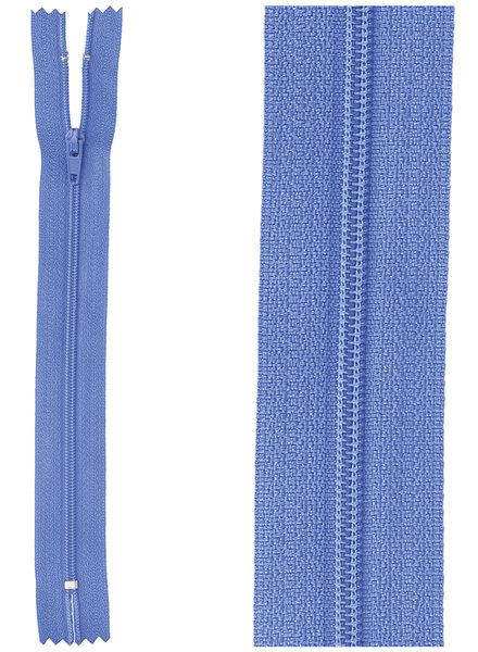 close end zipper - cobalt blue color 918