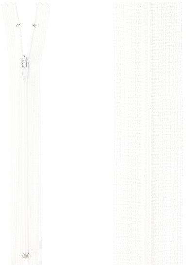klassieke rits / rokrits - wit kleur 501