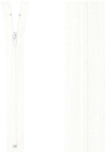 close end zipper - white color  501