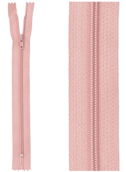 close end zipper - dusty pink 70