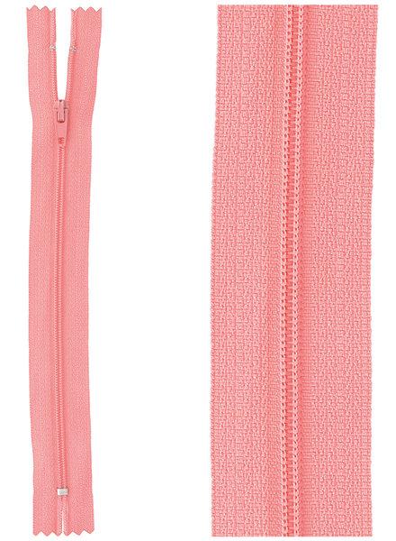 close end zipper - pink color  517