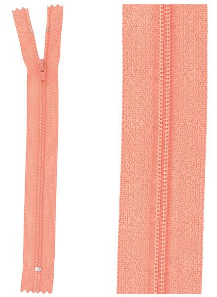 close end zipper - coral color 816