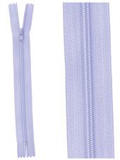 close end zipper - violet color  554