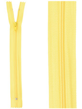 close end zipper - yellow color 506