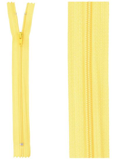 klassieke rits / rokrits -  geel kleur 506