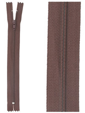 close end zipper - bordeaux color 864
