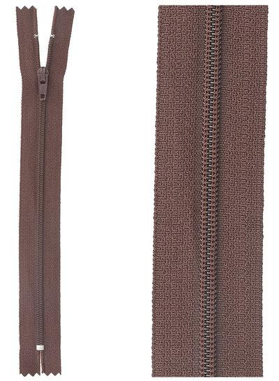 close end zipper - bordeaux color 864