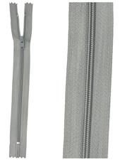 close end zipper - blue grey color 13