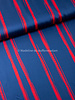 Editex red lines - viscose