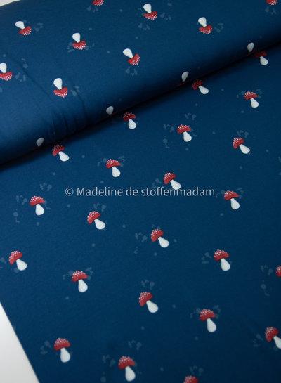 paddestoel marine - tricot