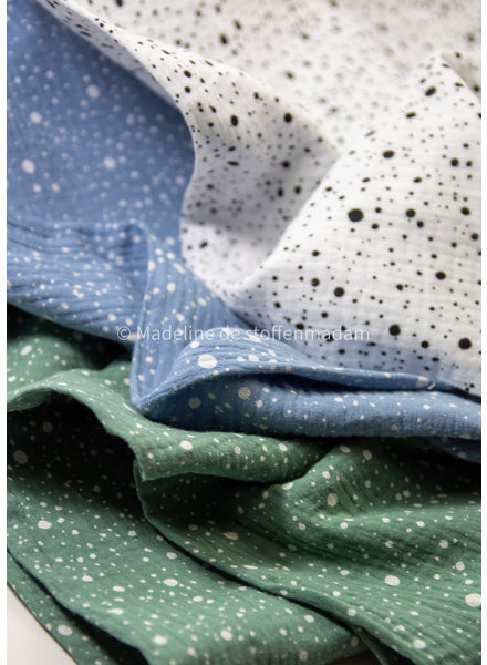 Blue dots - tetra