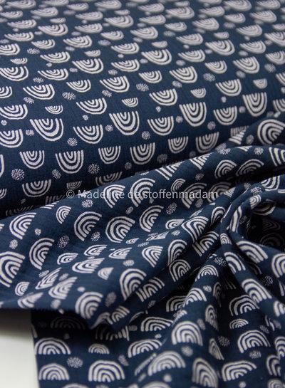 marineblauw regenboogjes - tetra
