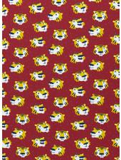 tijgers furry faces - tricot