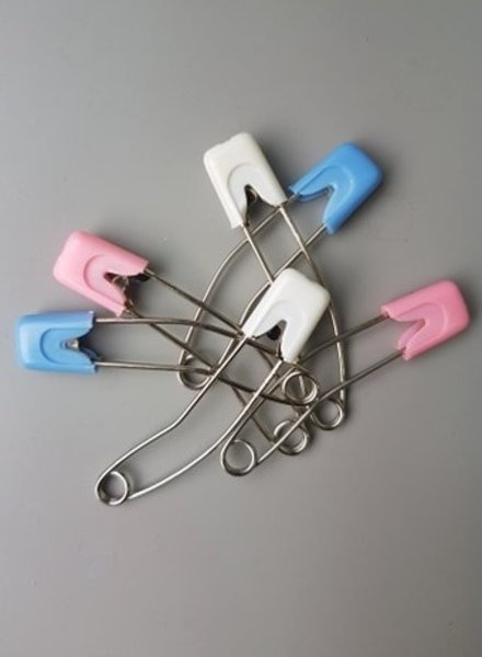 nappy pins - 6 pieces