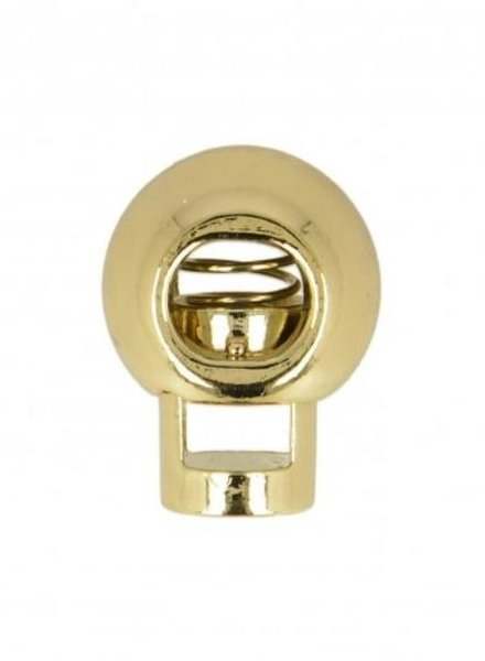 cord stopper gold - 1 piec