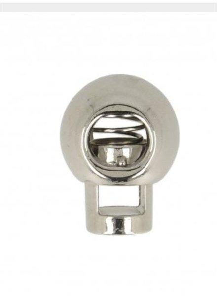 Koordstopper  zilver 1 stuk