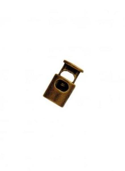 Koordstopper brons ovaal 1 stuk