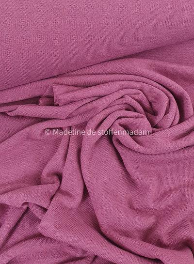 A La Ville pink- soft knitted viscose jersey