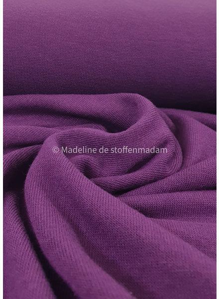 lila knitted viscose