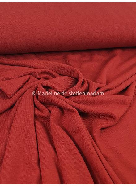 marsala knitted viscose