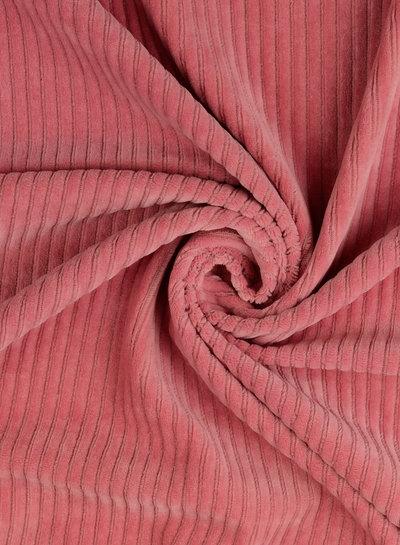 pink - stretch corduroy