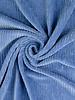 dolphin blue - stretch corduroy - 100% cotton