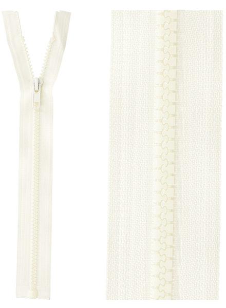 open end zipper -  ecru 841