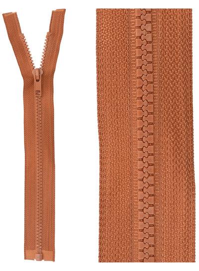 open end zipper - Rust color  850