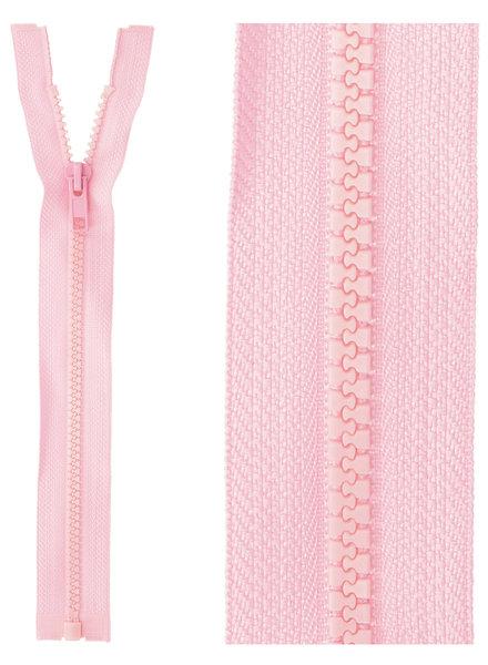 open end zipper - pink color 513