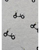 grijs oker scooter - happy fleece