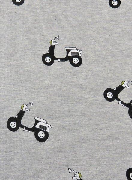 grey scooter - happy fleece