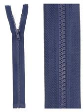 open end zipper - navy blue color 919