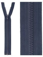 open end zipper - dark navy blue color 560