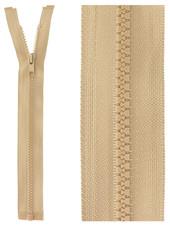 open end zipper - sand color 573