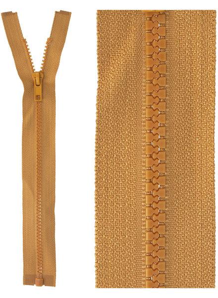 open end zipper - ocher color 508