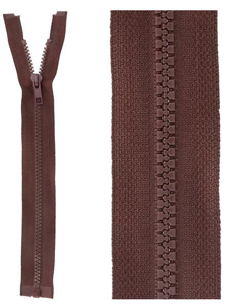 open end zipper - bordeaux color 864