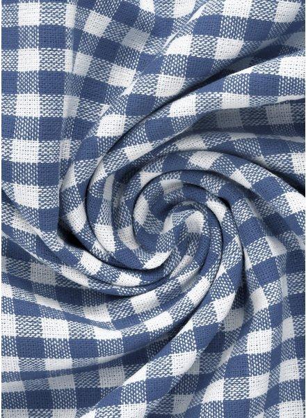 vichy squares jeans blue- cotton