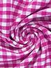 vichy squares fuchsia - cotton