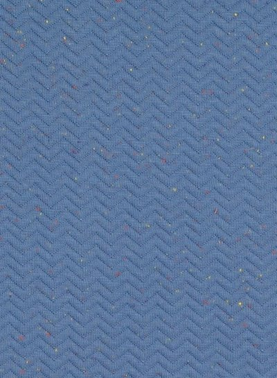 denim - chevron sweater