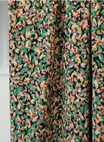 Atelier Jupe small colourful print - viscose