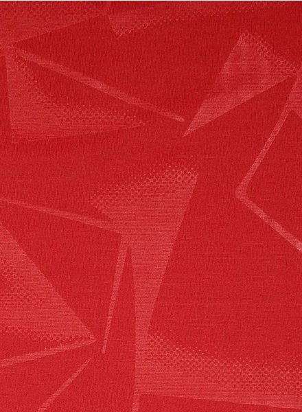 geometric print red - sport clothing / lycra
