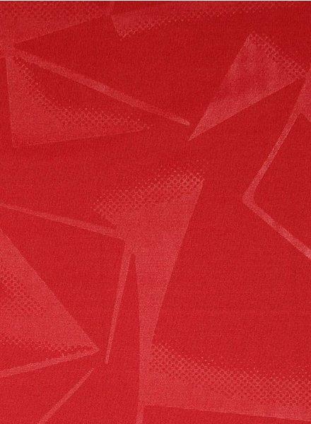 geometrische print rood - sportkleding / lycra
