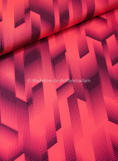 neon pink - sport clothing / lycra