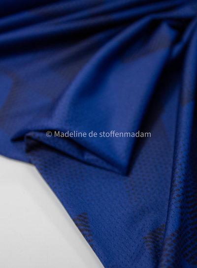 kobalt stippen - sportkleding / lycra