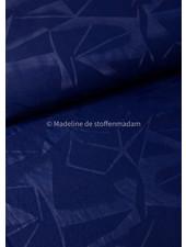 geometrische print marine - sportkleding / lycra
