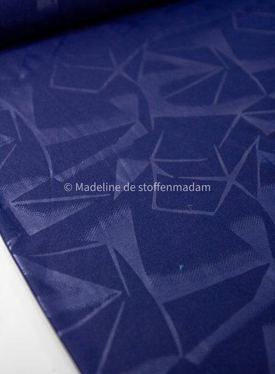 geometric print navy - sport clothing / lycra